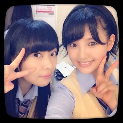 141021HKT48-AKB48兒玉遥(はるっぴ)指原莉乃