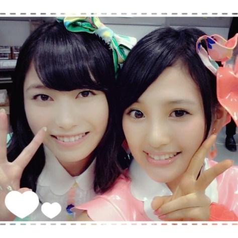 140805HKT48-AKB48兒玉遥(はるっぴ)横山由依