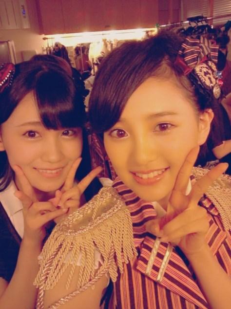 140729HKT48-AKB48兒玉遥(はるっぴ)小嶋真子