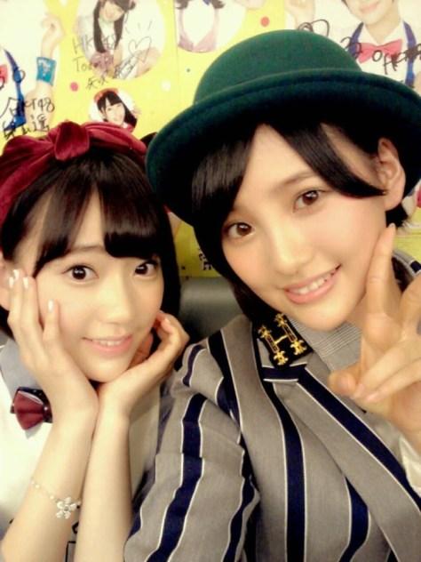 140919HKT48-AKB48宮脇咲良-兒玉遥(はるっぴ)