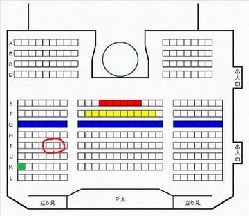 HKT48劇場座席図150217b