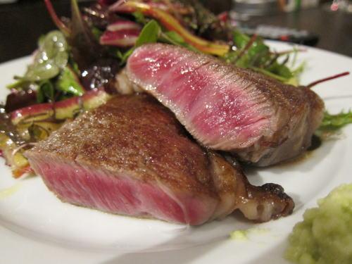 A5仙台和牛いちぼ肉のポワレ