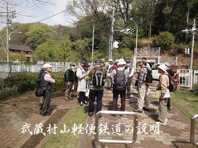 武蔵村山軽便鉄道の説明