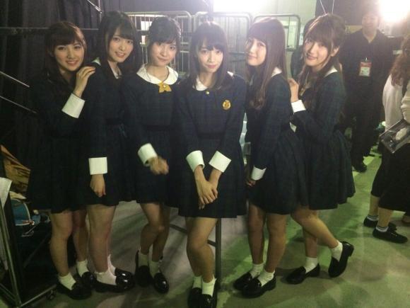 岡田奈々の全裸画像が流出した日のAKB48衣装