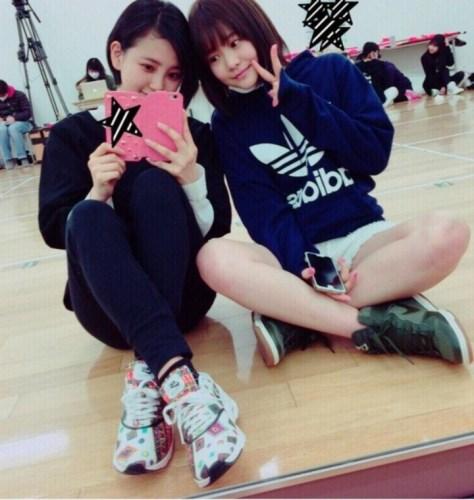 160217HKT48-AKB48兒玉遥755(はるっぴ)-1 with HKT48穴井千尋