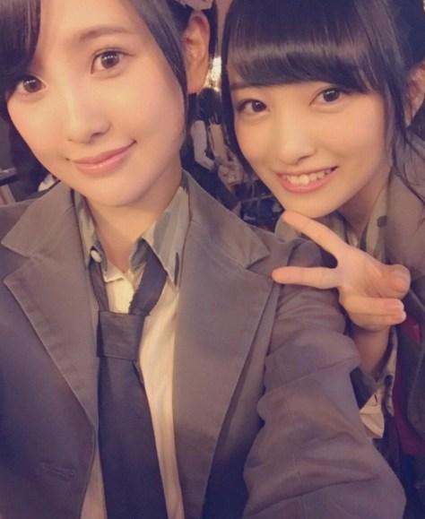 160128HKT48-AKB48兒玉遥755(はるっぴ)-1 with AKB48向井地美音