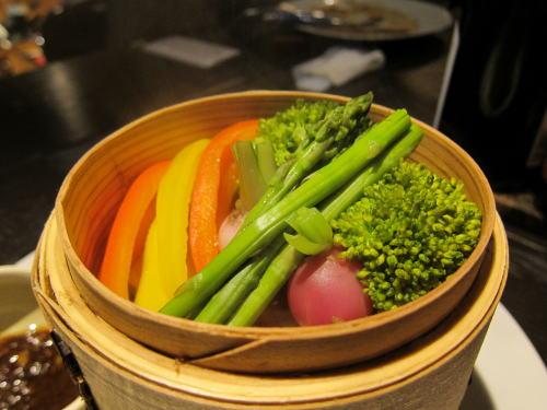 点心蒸野菜