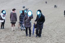 日本仲人協会鳥取支部-砂丘散策