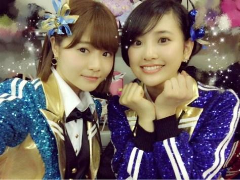 160428HKT48穴井千尋-2 with HKT48-AKB48兒玉遥(はるっぴ)