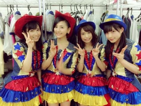 160331HKT48-AKB48兒玉遥755(はるっぴ)-1 with HKT48上野遥 岡本直子 山本茉央