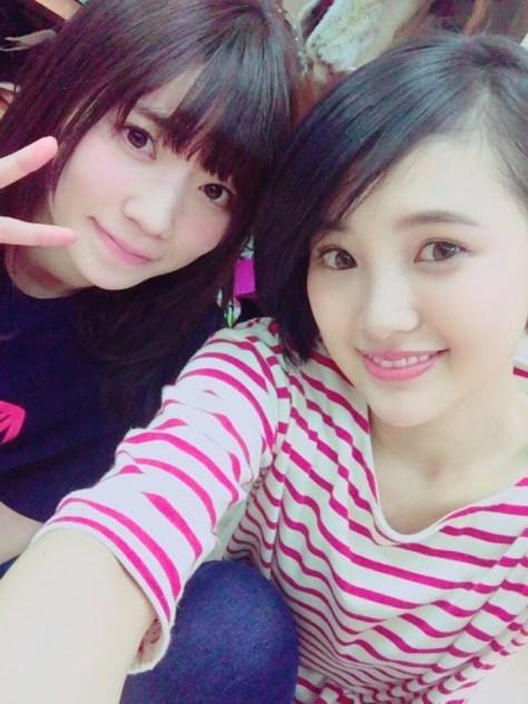 160402HKT48-AKB48兒玉遥755(はるっぴ)-1 with HKT48駒田京伽