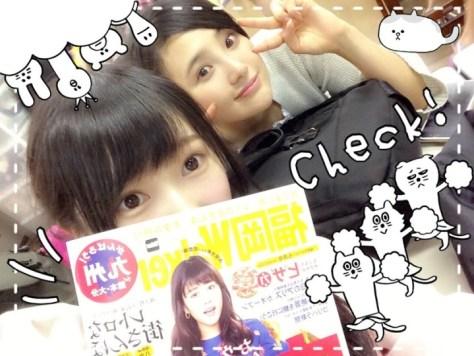 160520HKT48井上由莉耶HKT48-AKB48兒玉遥(はるっぴ)