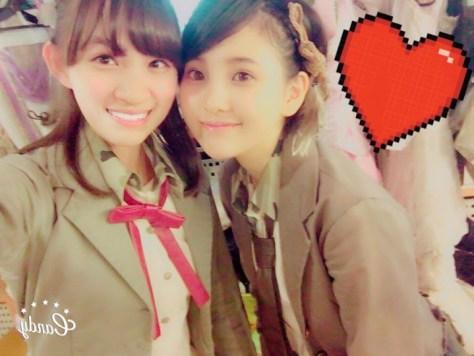 160611AKB48下口ひななwithHKT48-AKB48兒玉遥(はるっぴ)