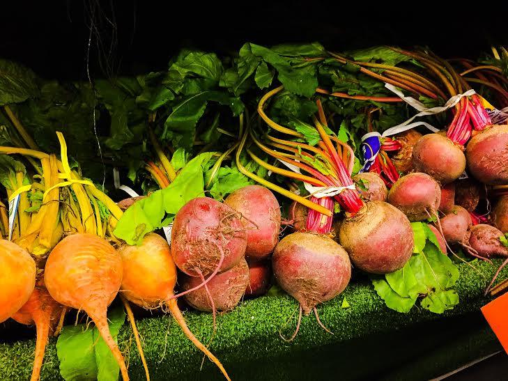 Beets a farmer's market