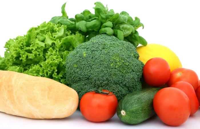 quels aliments choisir, les légumes
