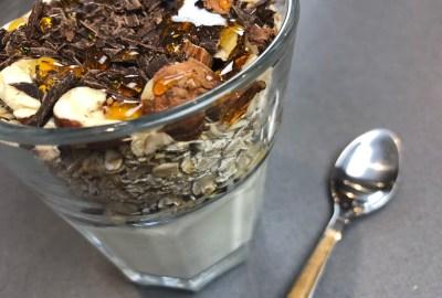 muesli chocolat fruits secs