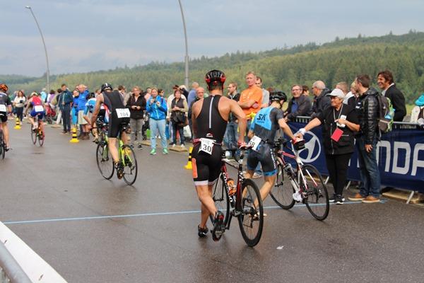 résultats au triathlon eupen départ vélo