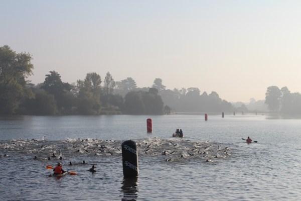 le compte rendu de ma course au Hever Castle Triathlon 8