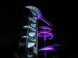 Beleuchtung Wasserrutsche (1)