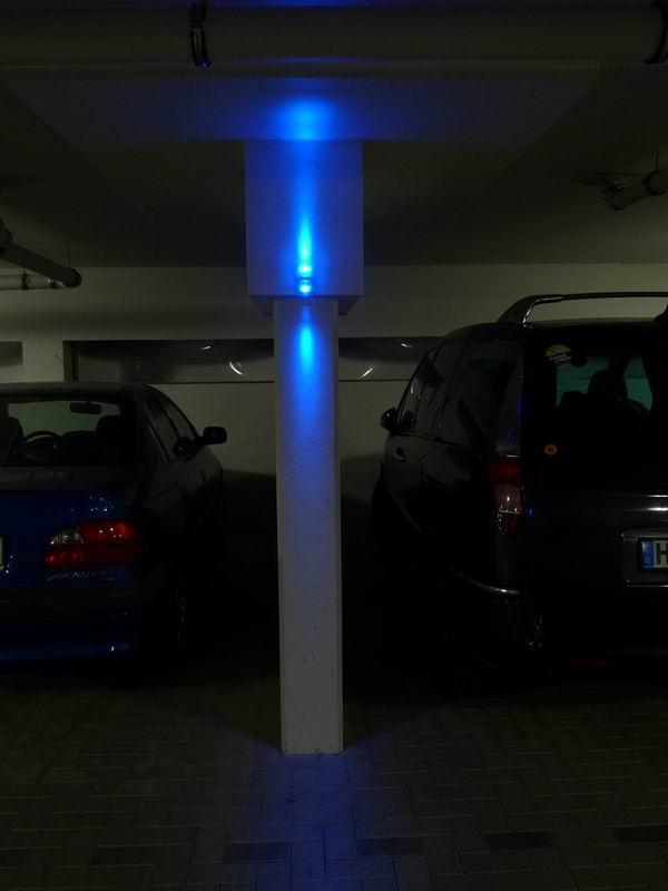 beleuchtung einer tiefgarage in der pippelsburg in hildesheim lichtgestaltung. Black Bedroom Furniture Sets. Home Design Ideas