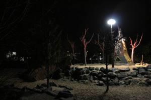 Winterzoo 2011 Spielplatz (2)