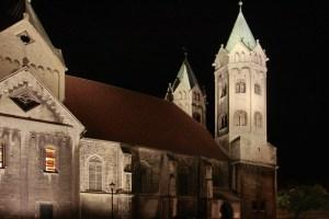 Beleuchtungsprobe St. Marien Freyburg (9)