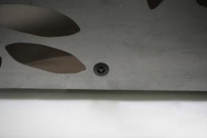 Leuchtender Corten Stahl Würfel (15)