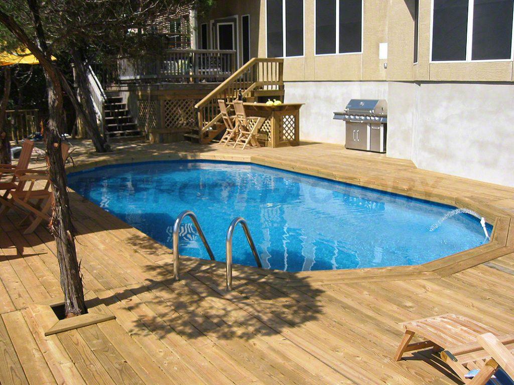 Pool Deck Ideas (Full Deck) - The Pool Factory on Pool Deck Patio Ideas  id=73407