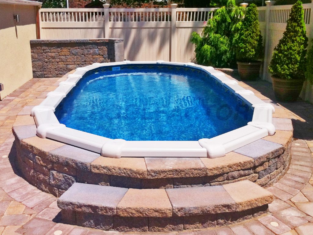 Landscaping Around Your Above Ground Pool on Patio Ideas Around Pool id=76835