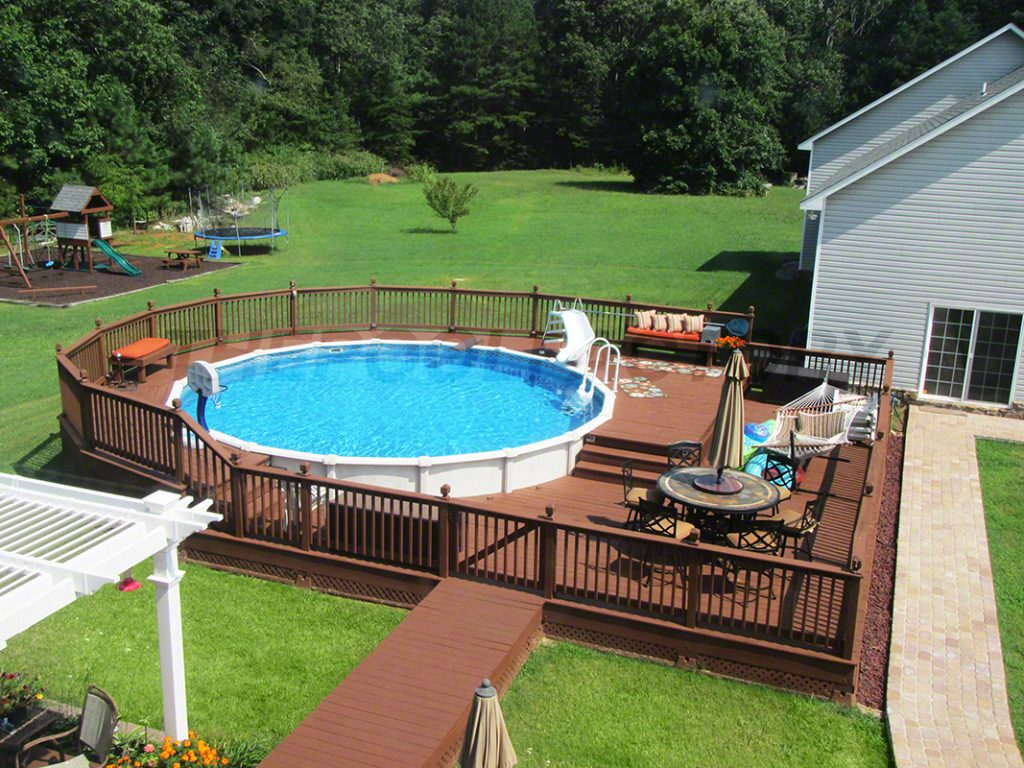 Above Ground Pool Designs