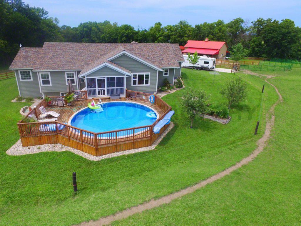 Pool Deck Ideas (Full Deck) - The Pool Factory on Pool Deck Patio Ideas  id=51986