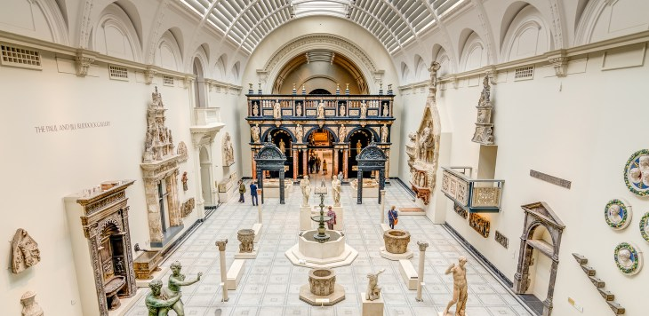 londra müze tavsiyeleri victoria and albert museum