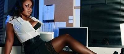 Amber James Sexy Babestation Secretary
