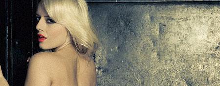 Hannah Claydon topless in the Babestation basement