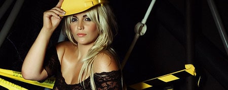 Louise Porter is our very own construction worker at Babestation!
