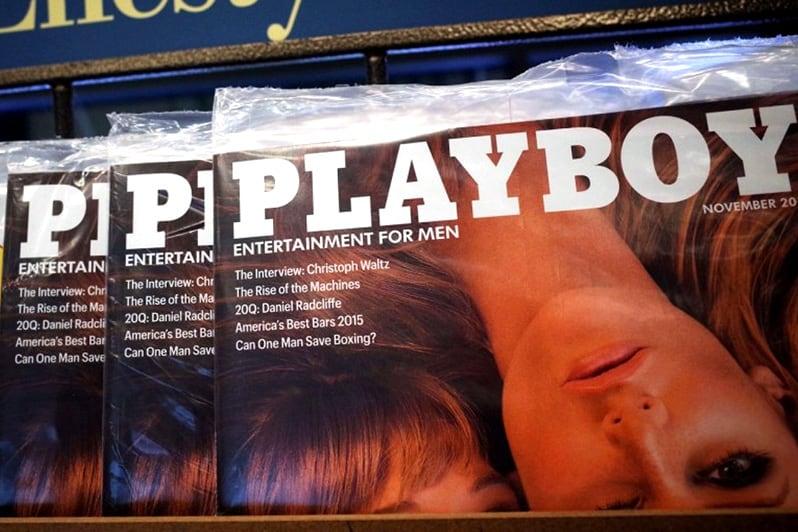playboy magazine header