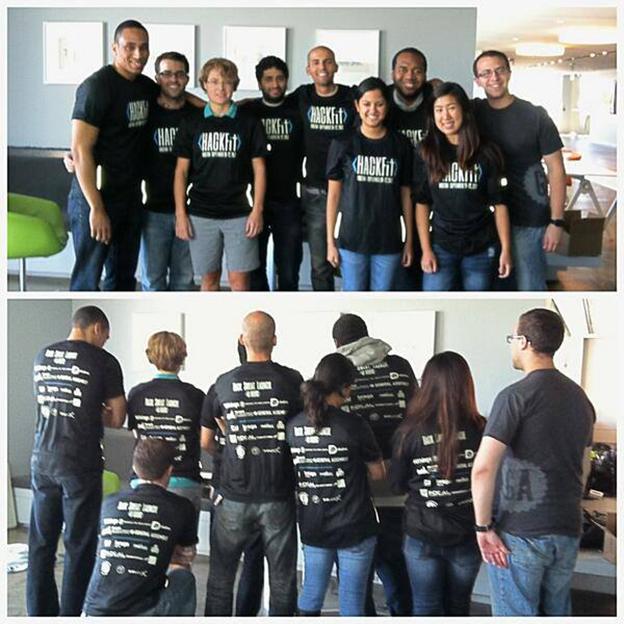 GA Alumni at HackFit Boston