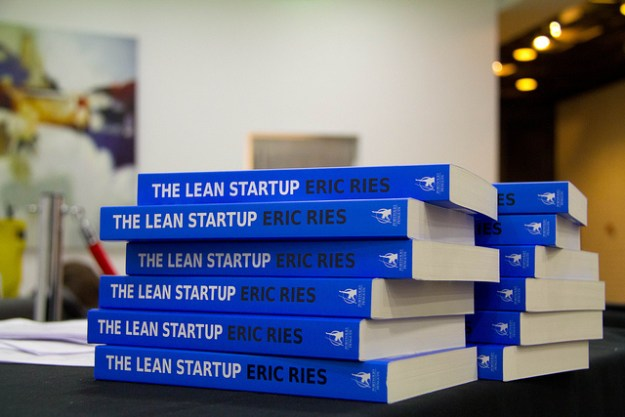 Eric Ries's lean startup book