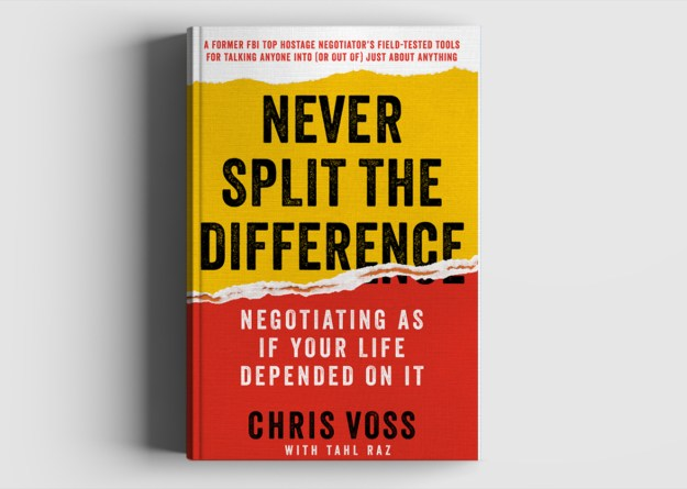 Chris Voss Never Split the Difference Book