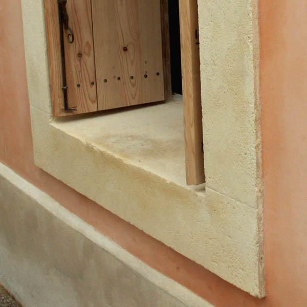 Restaurer les pierres de taille abim es - Appui de fenetre en pierre naturelle ...