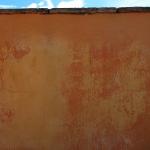 badigeon usé par 20 ans de soleil et de pluie (dans quel état serait une peinture à base de pétrole ?)
