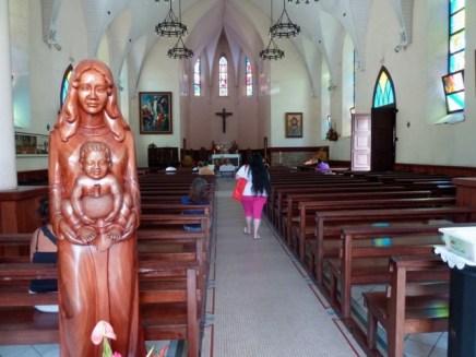 Cathédrale Notre-Dame, à Papeete.