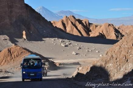 Valle de la Luna. Désert d'Atacama. Chili.