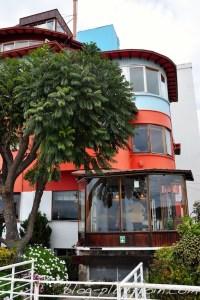 La Sebastiana, maison de Pablo Neruda, à Valparaiso.