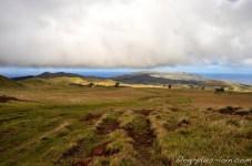 En route vers le sommet du Maunga Terevaka.