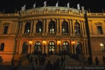 Le Rudolfinum, salle de concerts.