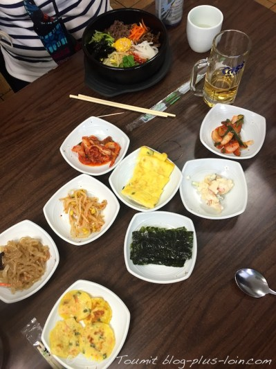 Dans un resto coréen... Déclicieux !