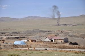 Dans la banlieue d'Oulan Bator. Mongolie.