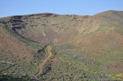 Près de Maguez, à Lanzarote (Canaries).