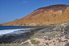 L'île de la Graciosa, à Lanzarote (Canaries).